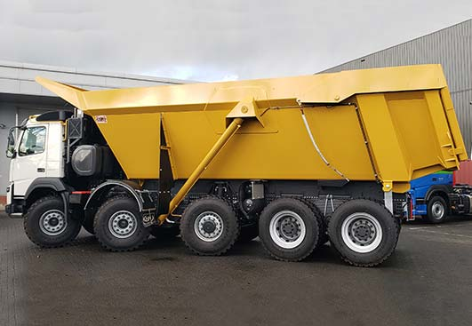 Stock 10x6 tipper